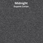 Dupont Corian Midnight