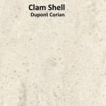 Dupont Corian Clam Shell