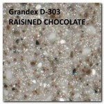 Grandex D-303 RAISINED CHOCOLATE