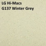 LG Hi-Macs G137 Winter Grey