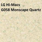 LG Hi-Macs G58 Monscape Quartz