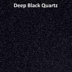 Dupont Corian Deep Black Quartz
