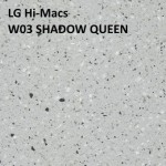 LG Hi-Macs W03 SHADOW QUEEN